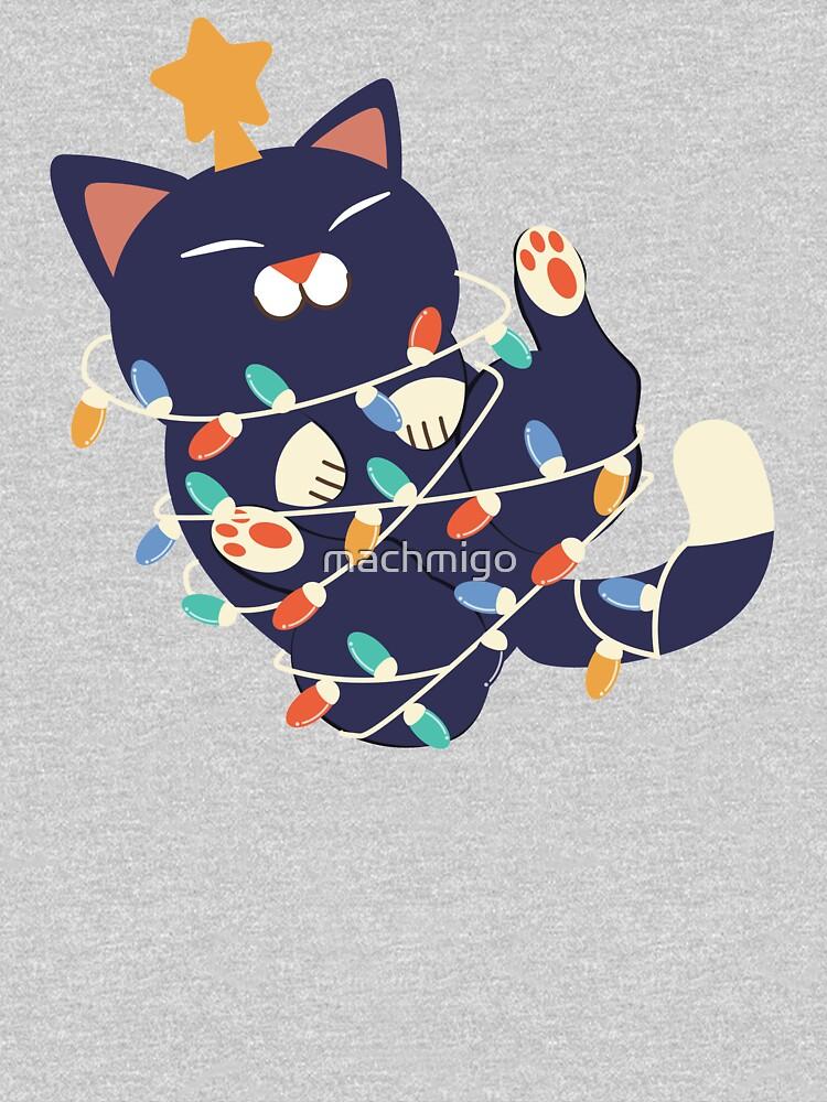 Christmas Kitty by machmigo