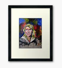 Erica Framed Print