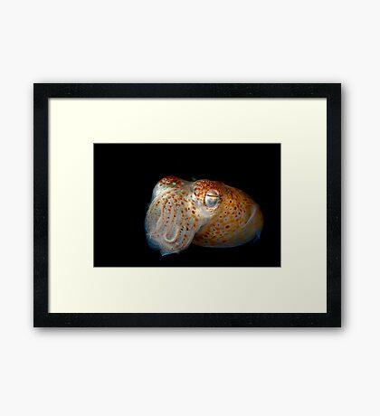 Underwater Alien Framed Print