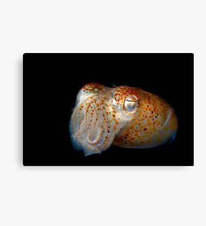 Underwater Alien Canvas Print