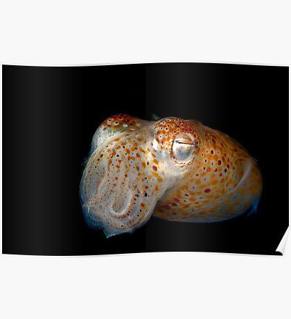 Underwater Alien Poster