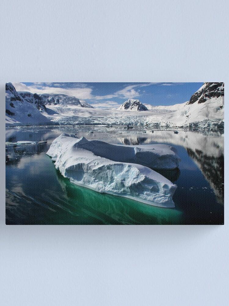 Alternate view of Beautiful Antarctica Canvas Print