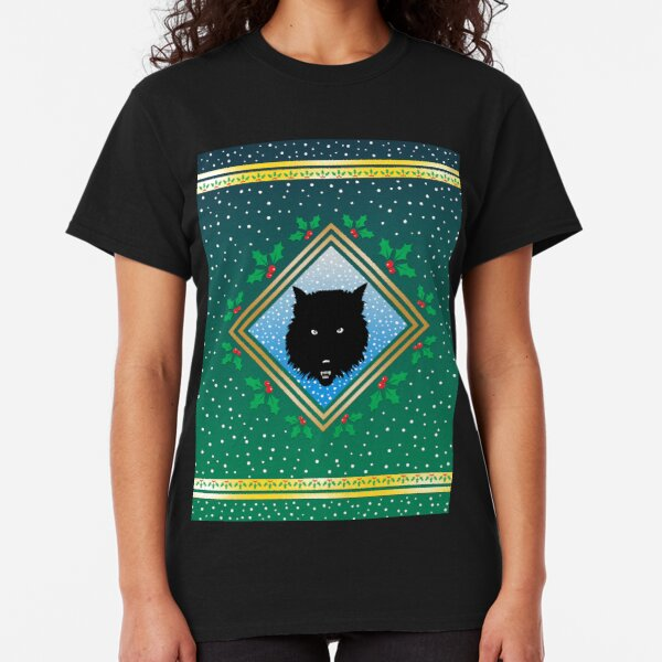 The Wolves Are Running Wildwood Green Fresco Classic T-Shirt
