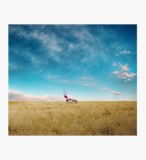Caravan Breaking Bad Photographic Print