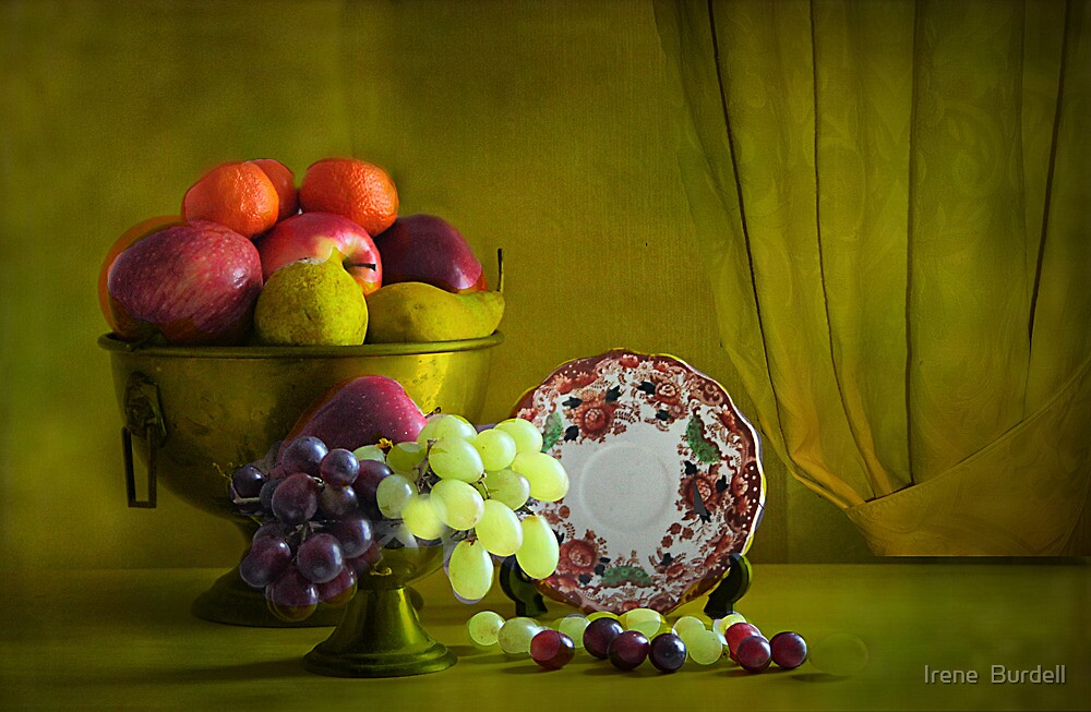Fruits .  by Irene  Burdell
