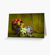 Fruits .  Greeting Card