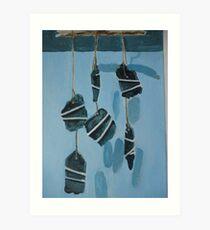 Wind Chime. Art Print