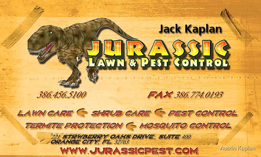 Jurassic Business Card by Austin Kaplan