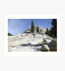 Olmsted Point Art Print