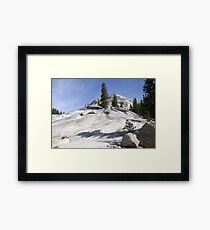 Olmsted Point Framed Print