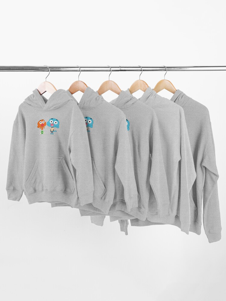 Alternate view of The amazing world of Gumball™, Gumball and Darwin Kids Pullover Hoodie