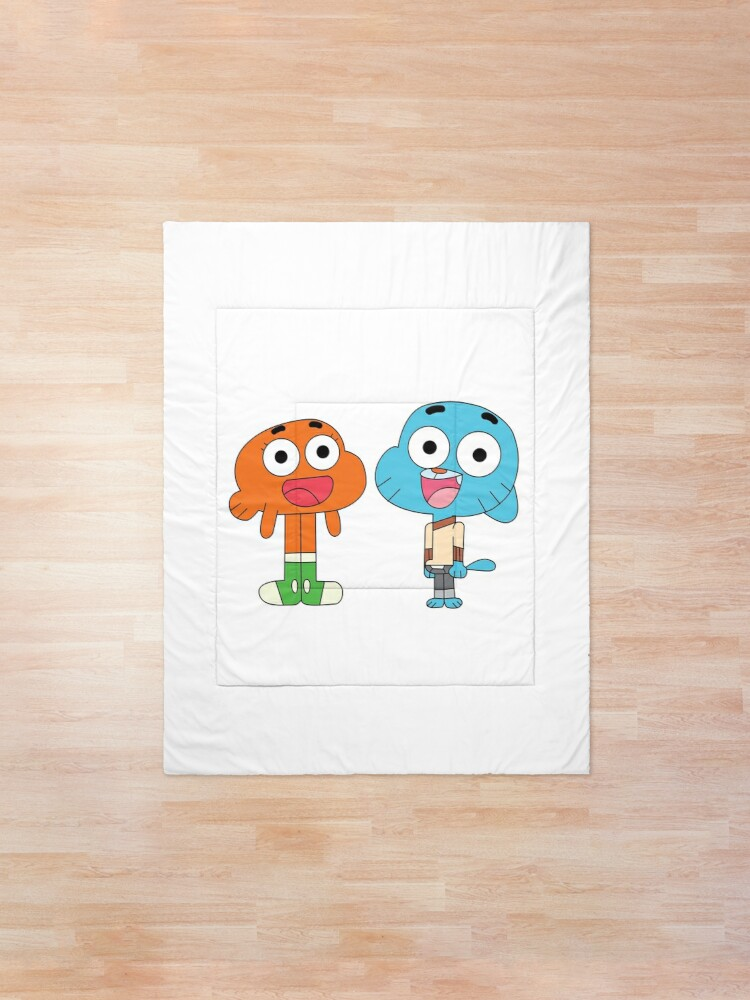 Alternate view of The amazing world of Gumball™, Gumball and Darwin Comforter