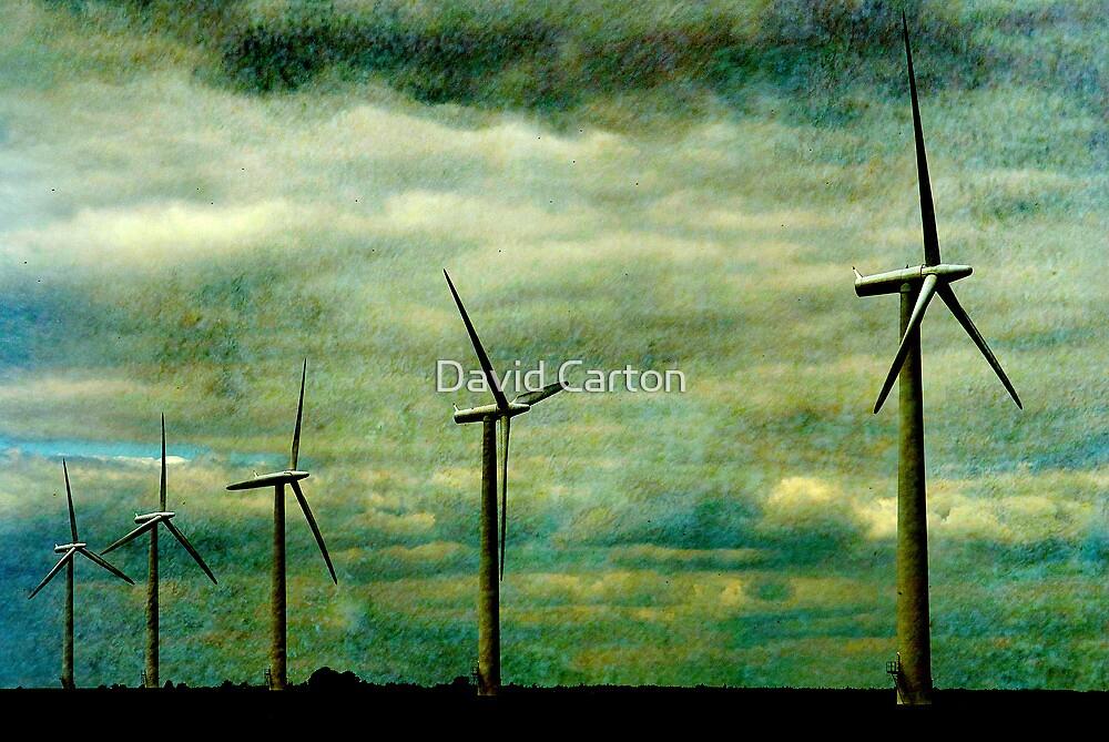 The Wind farm, Oxfordshire by David Carton
