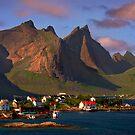 Sorvagen. Moskenesoy Island. Lofotens. Norway. by PhotosEcosse