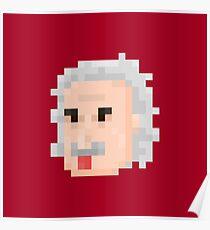 Albert Face Poster