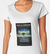 Theology of Digital Physics Premium Scoop T-Shirt