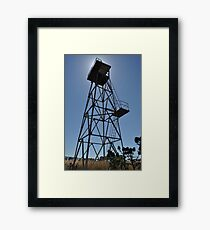 WWII Watch tower, Truganina Munitions Storage Facility Framed Print