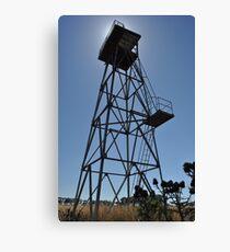 WWII Watch tower, Truganina Munitions Storage Facility Canvas Print