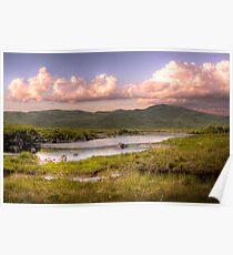 A Grand View - Connemarra National Park, Ireland Poster