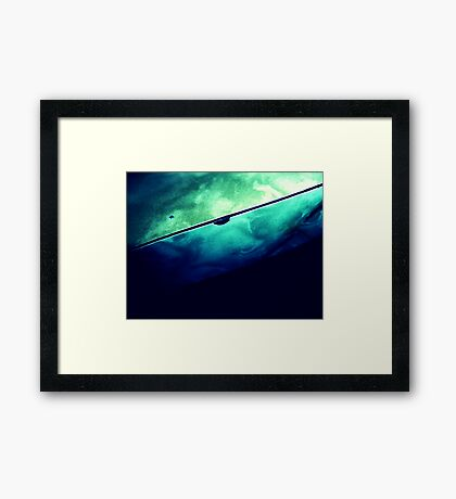 03-27-11:  Chip in the Formica Framed Print