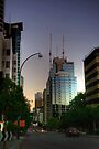 Early Evening Along St George's Terrace, Perth by Christine Smith