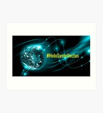 #HoloSyntellectus Art Print