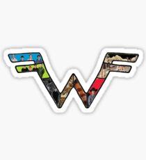 W Dragonfight-cooltexture B&WCarnival of Doooom w/Text Sticker