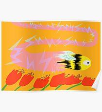 Bee, Warp Speed Poster