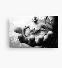 Escape From The Hand Of Justice Canvas Print