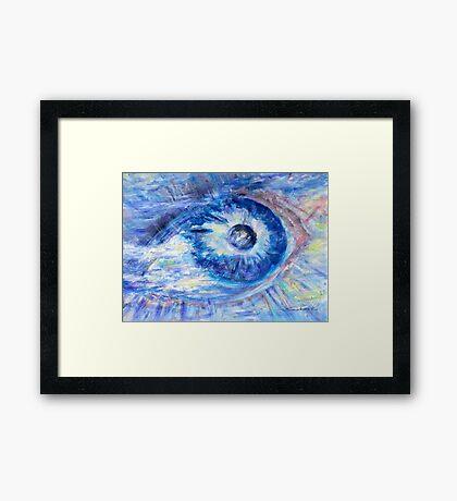 Eye To The World  Framed Print