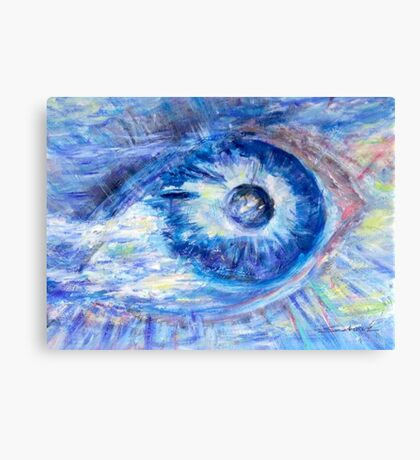 Eye To The World  Canvas Print