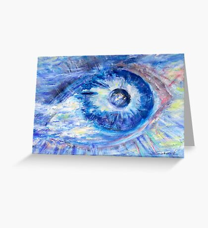 Eye To The World  Greeting Card