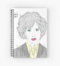 MIRANDA JULY Spiral Notebook