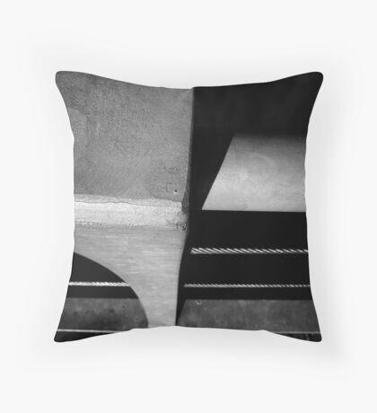 Floating Bridge 9 Throw Pillow