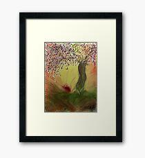 Cherry Blossom Tree of Mine, Our Rising Sun Framed Print
