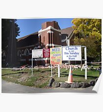 The Aftermath - Christchurch, NZ Poster