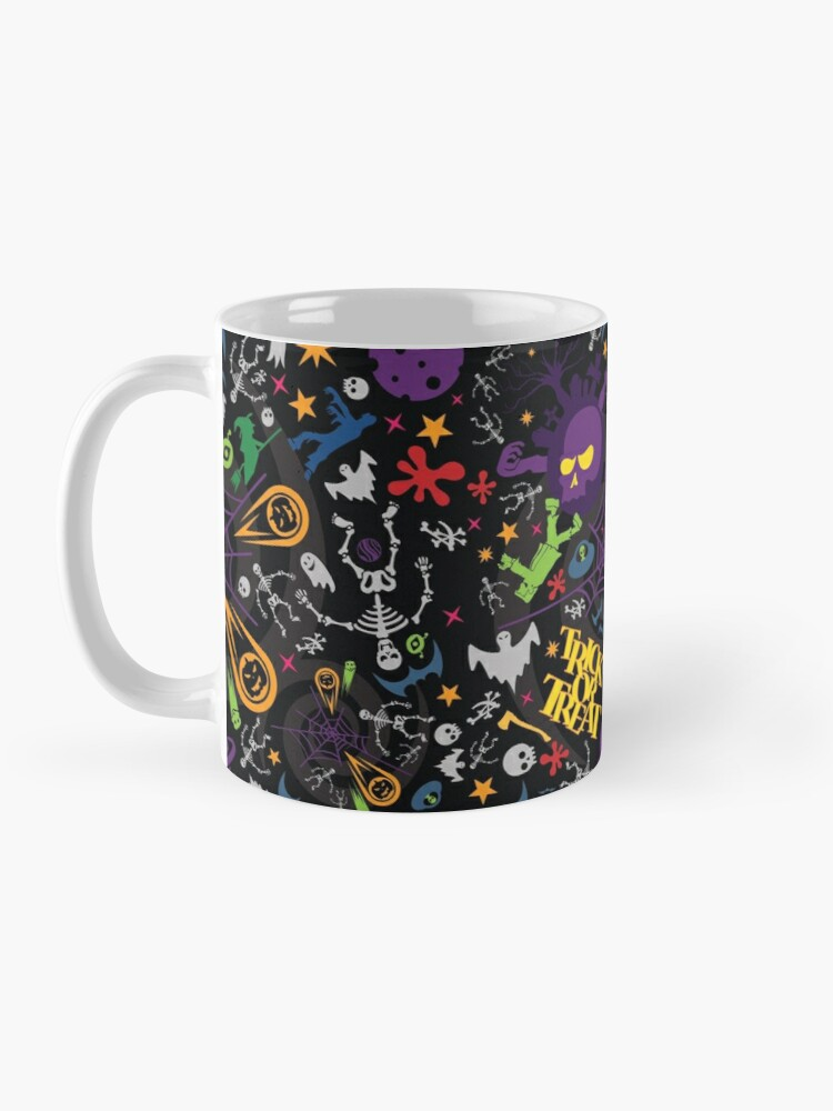 Alternate view of Space is the Place for Halloween Mug