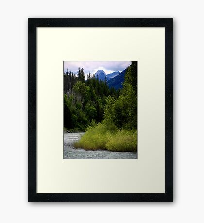 Glacier Country (Montana, USA) Framed Print