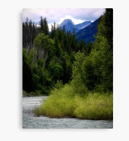 Glacier Country (Montana, USA) Canvas Print