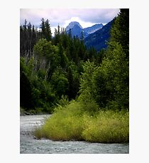 Glacier Country (Montana, USA) Photographic Print