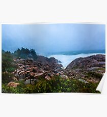 Stormy Day Cape Breton Poster