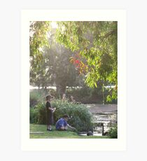 """Picnic  with nature-Baldwin swamp in Bundaberg"" Art Print"