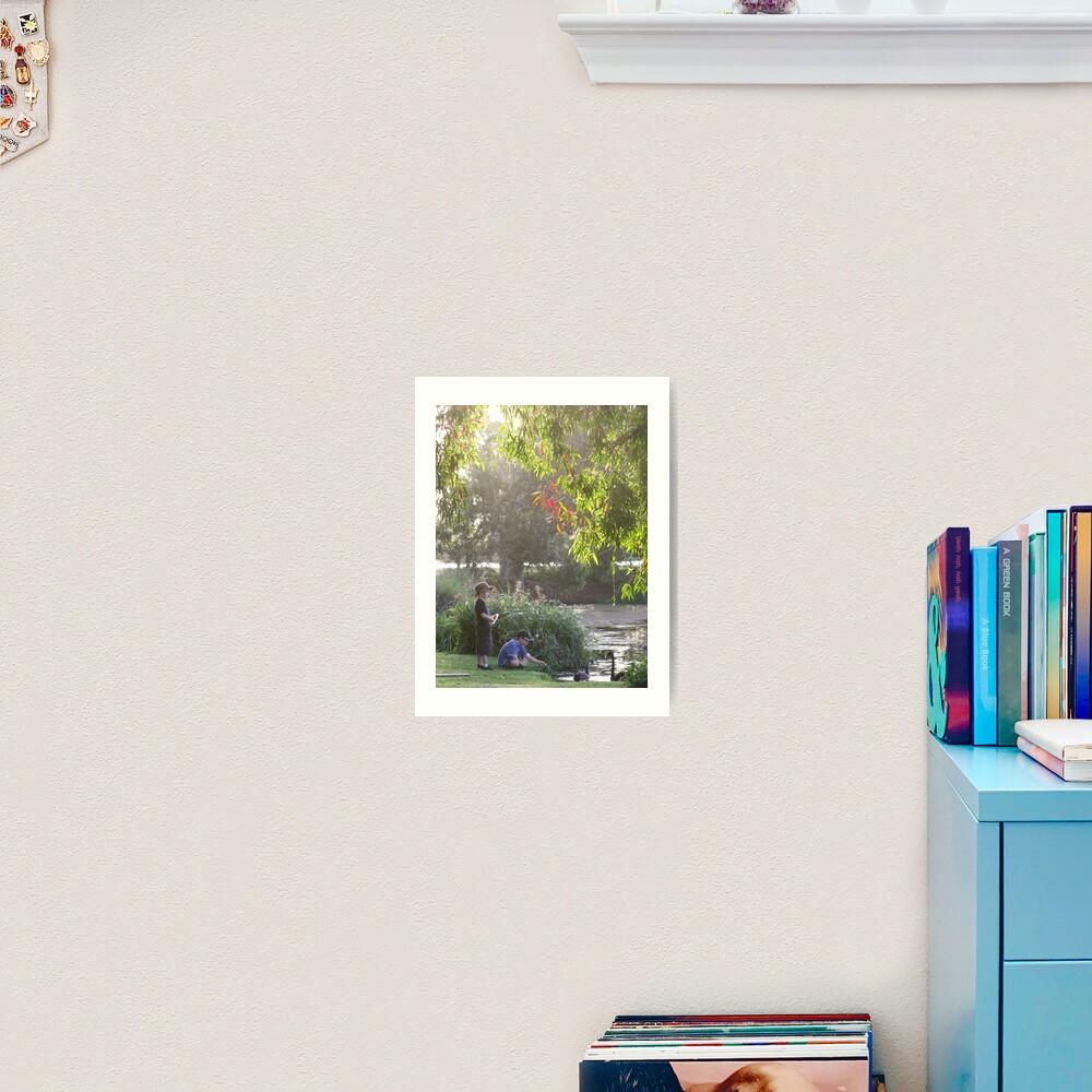 """""""Picnic  with nature-Baldwin swamp in Bundaberg"""" Art Print"""