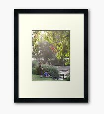 """Picnic  with nature-Baldwin swamp in Bundaberg"" Framed Print"