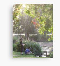 """""""Picnic  with nature-Baldwin swamp in Bundaberg"""" Metal Print"""
