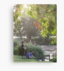 """Picnic  with nature-Baldwin swamp in Bundaberg"" Canvas Print"