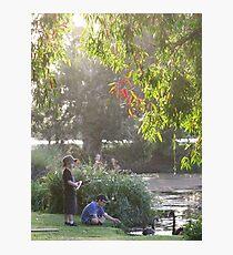 """Picnic  with nature-Baldwin swamp in Bundaberg"" Photographic Print"