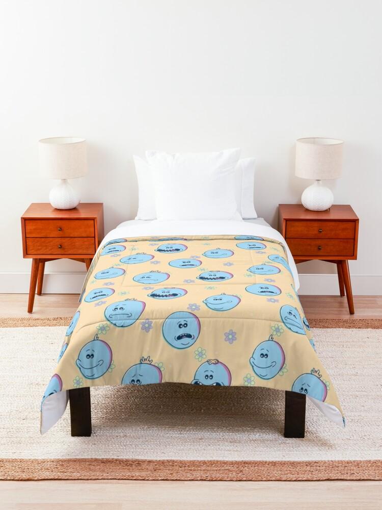 Alternate view of Mr Meeseeks (Rick & Morty) Comforter