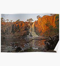 Nigretta Falls at Sunset Poster