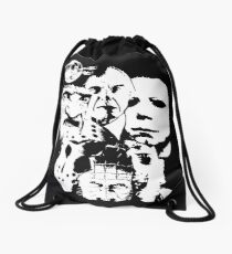 Horror Icons! Drawstring Bag